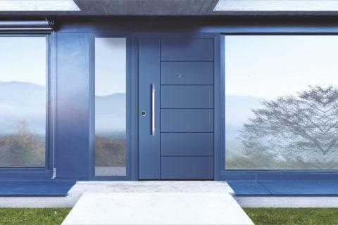 Πόρτες Εισόδου Αλουμινίου